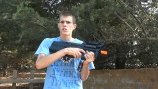 Download King Arms FN P90 Airsoft Gun Chrono/Shooting Video