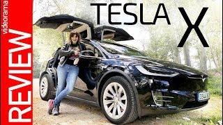 Download Tesla X review - el INCREIBLE coche con ALAS - Video