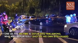 Download Penang highway shooting: Datuk killed by own bodyguard Video