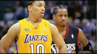 Download Tyronn Lue Great Defense on Allen Iverson - 2001 Finals Game 1 Video