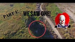 Download HUNTING KILLER CLOWNS WITH DRONE! WE FOUND ONE! (NOT CLICKBAIT!) Video