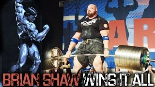Download BRIAN SHAW WINS Arnold Strongman Classic 2017 Video
