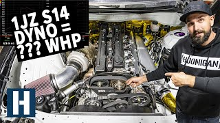Download Vin's 1JZ Swapped Silvia Hits the Dyno - How Much Power Does it Make?? Video