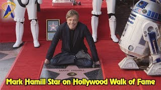 Download Mark Hamill receives star on the Hollywood Walk of Fame Video