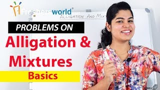 Download Alligation and Mixture - Problems on Alligation and Mixture -1 – Basics| Shortcuts Video