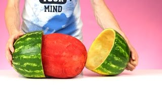 Download 9 ORIGINAL WAYS TO CUT A WATERMELON Video