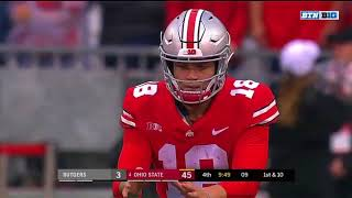 Download Supercut: Tate Martell Goes 10-10 and Electrifies Ohio Stadium Against Rutgers Video