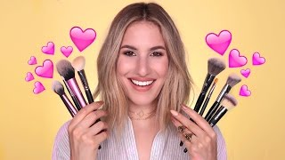Download BRUSH STARTER KIT: My FAVORITE Brushes, AFFORDABLE + HIGH END | JamiePaigeBeauty Video