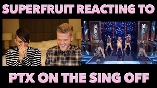 Download SUPERFRUIT REACTING TO PENTATONIX ON THE SING-OFF Video