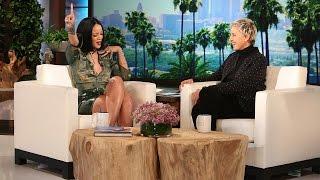 Download Rihanna Reveals Her Dressing Room Essentials Video