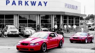 Download Mustangs leaving SVT Cobra Club ★ Parkway Ford Show 2015 (3 of 3) Video