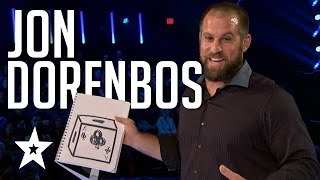 Download Jon Dorenbos Auditions & Performances America's Got Talent 2016 Finalists Video