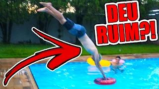 Download DESAFIO MAIS PERIGOSO NA PISCINA !!! ( APOSTANDO 1000 REAIS! ) Video