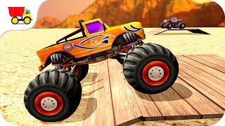 Download Car Racing Games - Monster Truck Funs of Stunts - Gameplay Android free games Video