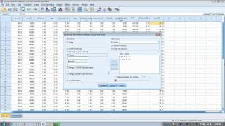 Download How to Use SPSS: Transform or Recode a Variable Video