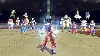 Download Ultra Instinct Goku vs All 12 Gods of Destruction - Dragon Ball Xenoverse 2 Video