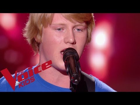 Chuck Berry - Johnny B. Goode | Alexander | The Voice Kids France 2018 | Blind Audition