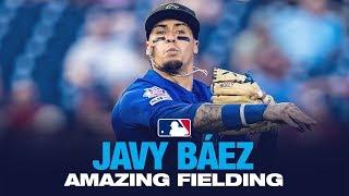Download Javy Baez - El Mago in the field! (Fielding Highlights 2019) Video
