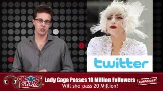 Download Lady Gaga Surpasses 10 Million Twitter Followers Video