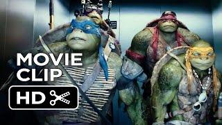 Download Teenage Mutant Ninja Turtles Official Movie CLIP - The Elevator (2014) - Ninja Turtle Movie HD Video