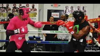 Download More wild sparring with Christian Liger Thomas and Ahmed Jefferson - Mayweather Boxing Club Video