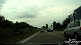 Download QQLX 0074 GERMANY trip from Bruchsal to Wurzburg - Street view car 2012 Video