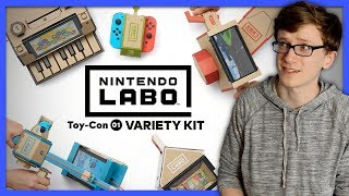 Download Nintendo Labo | Adventures with the Variety Kit - Scott The Woz Video