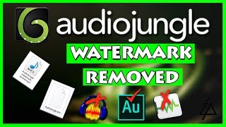 Download Audiojungle WATERMARK REMOVER - Complete Sound Removal Tutorial Video