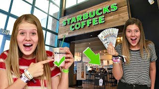 Download Giving Starbucks Employees $1000 If They Spell My Name Right || Taylor & Vanessa Video