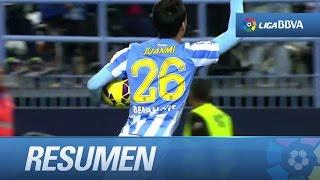 Download Resumen de Málaga CF (2-1) SD Eibar - HD Video