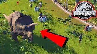 Download A DINOSAUR ESCAPES! - Jurassic World Evolution #2 Video