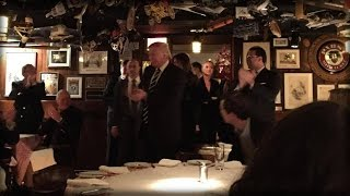 Download TRUMP DITCHES LIBERAL MEDIA FOR A FAMILY DINNER AND THEY FLIP OUT BUT DINERS HAD A SURPRISE RESPONSE Video