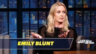 Download Emily Blunt Tells the Story of How She Met John Krasinski Video
