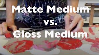 Download Acrylic Gloss Medium vs. Matte Medium Video