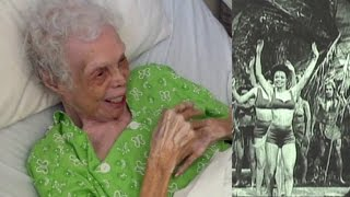 Download 102-Year-Old Woman Shocked to See Herself Dancing on Film for The First Time Video