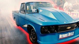 Download No Clock Small Block Shootout Nitrous Only Drag Racing at MIR Video