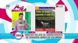Download ″Existen los milagros″ El emotivo relato del sobreviviente del accidente aéreo del Chapecoense Video