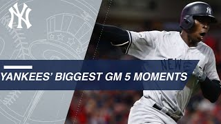 Download Watch the Yankees' big moments from ALDS Gm 5 Video