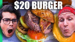 Download 50¢ Burger Machine VS $20 Burger in Manila, Philippines! (w/ Erwan Heussaff) Video