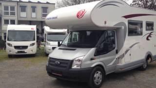 Download Купить автокемпер (дом на колесах, автодом) в Германии Ford Transit Eura Mobil 685, 2013 г.в. Video
