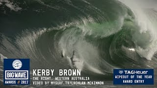 Download Kerby Brown at The Right - 2017 TAG Heuer Wipeout of the Year Entry - WSL Big Wave Awards Video
