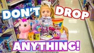 Download Anything 6 Year Old Everleigh Can Carry, We'll Pay For!!! - Challenge Video