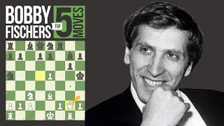 Download Bobby Fischer's 5 Most Brilliant Chess Moves Video