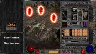 Download Diablo 2 - Uber Tristram with Bear Sorc - Keyset + Orgset + Equip - HD 60 fps Video