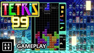 Download Tetris 99 Battle Royale (BACK TO BACK WINS) - Nintendo Switch Gameplay Video