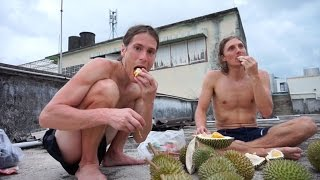 Download A Durian feast in Chanthaburi Thailand Video