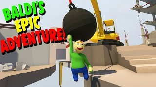 Download BALDI'S MOST EPIC ADVENTURE YET! | Human Fall Flat Video