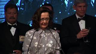 Download Toast to Amb. Hugh Montgomery by DDCIA Gina Haspel at the 2017 William J. Donovan Award® Dinner Video
