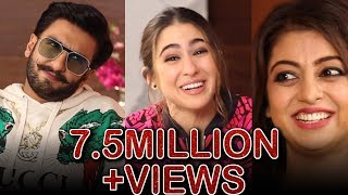 Download Ranveer Singh and Sara Ali Khan in a fun chat with Atika Farooqui | Simmba | Interview Video