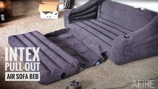 Download INTEX Pull-out Sofa Inflatable Queen Bed: Review & Demo Video